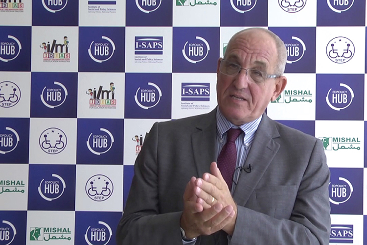 Richard Geary's interview at #EDPolicyHub Conference
