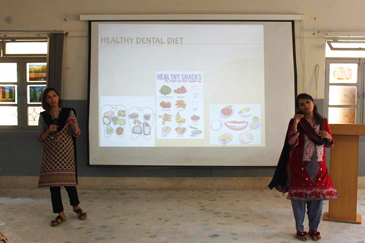 Dental care workshop for parents